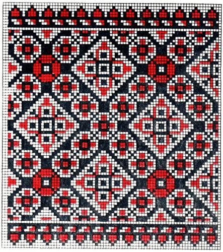 Українські національні узори та орнаменти для вишивання...
